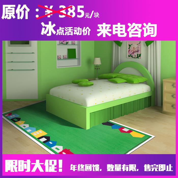 家用地毯促销-儿童房地毯/卧室地毯/尼龙印花块毯