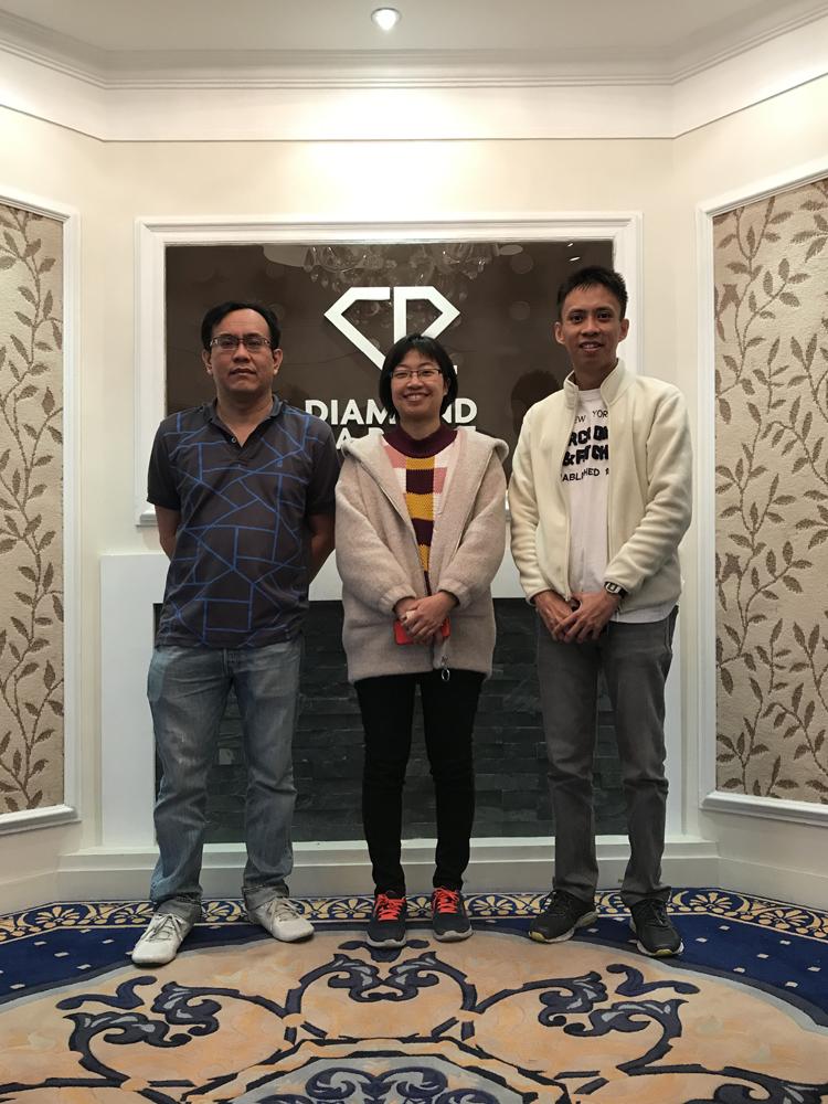 钻石亚博vip新加坡客户方块毯之旅
