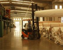 钻石地毯厂房存库