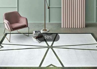 钻石地毯--地毯的尺寸大小可以定制吗?