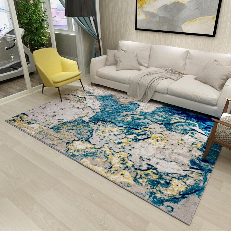 钻石地毯--客厅颜值赢在挂画,却败给了地毯