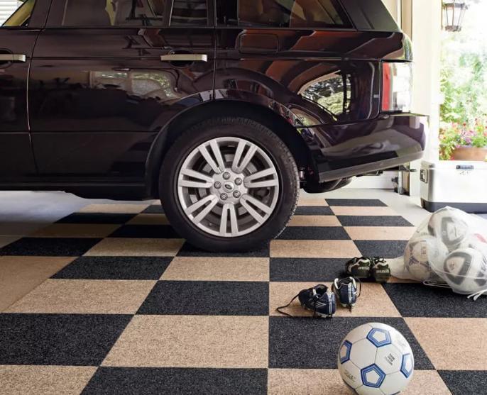 钻石地毯---车库里可以使用地毯吗?