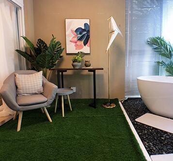 钻石地毯---使用人造草坪的3个优点