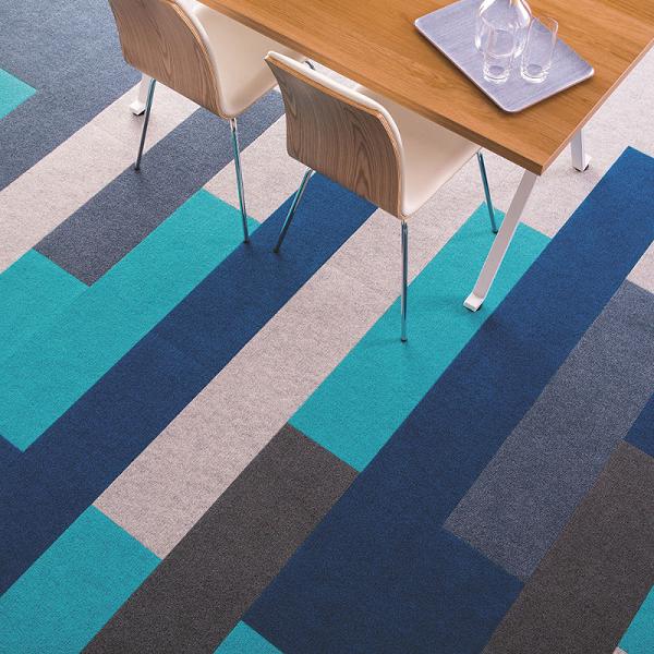 办公室地毯选方块毯阻燃防火提升美感!