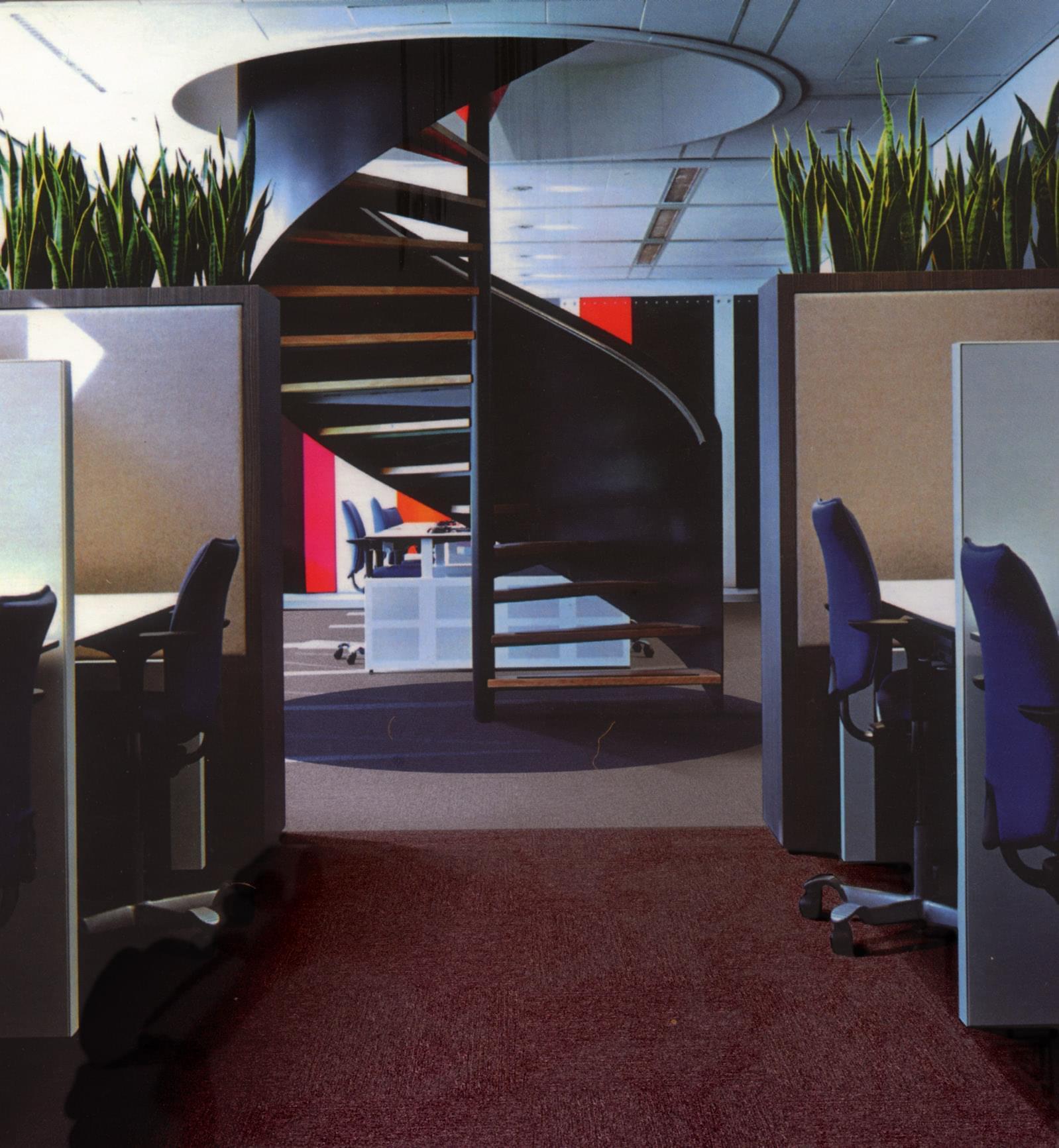 ZST19-系列-办公室丙纶方块地毯