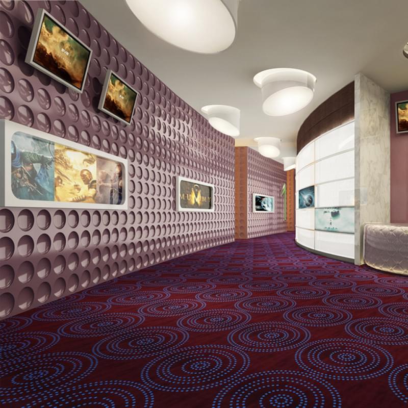 DYY02系列-电影院/办公室/会议室/走道尼龙印花地毯