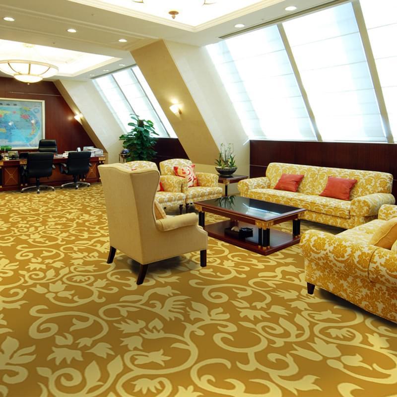 办公室/接待室/会议室/套房腈纶手工毯