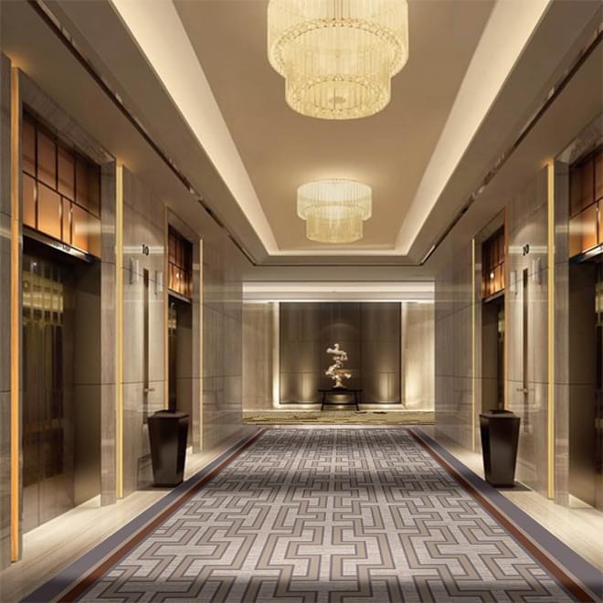 Z2116系列-电梯厅/KTV/会所/走道阿克明斯特羊毛地毯