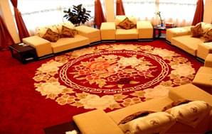 接待室/会议室/宴会厅羊毛手工毯