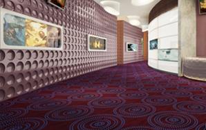 DYY02系列-高档电影院/办公室/会议室/走道尼龙印花地毯